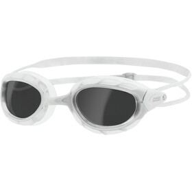Zoggs Predator Lunettes de natation, white/white/smoke